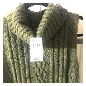Sweater dress . Turtle neck